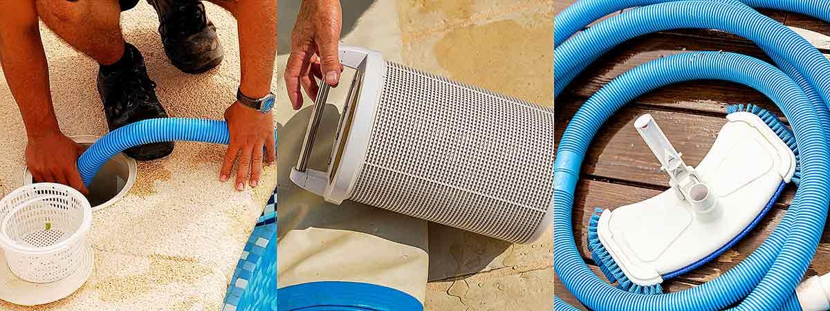 Accesorios de limpieza para piscinas